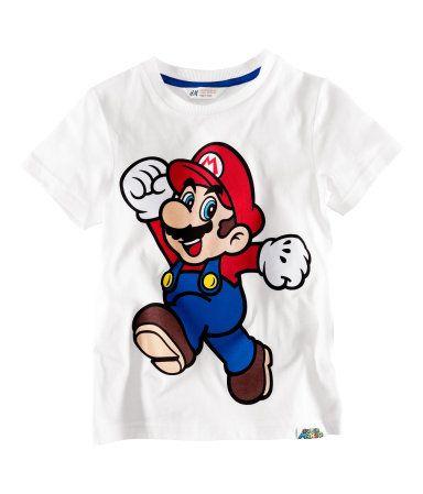 Franela Mario Bros (H ES)