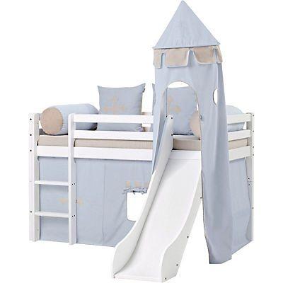Hoppekids Halbhohes Bett »Fairytale Knight« kaufen ✓ Rechnungskauf ✓  Matratze…