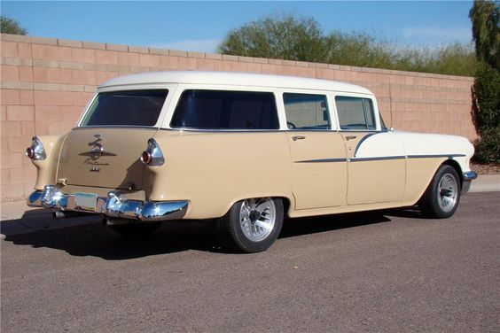 1956 pontiac wagon for sale | 1956 PONTIAC CHIEFTAIN Lot 345.1 | Barrett-Jackson Auction Company