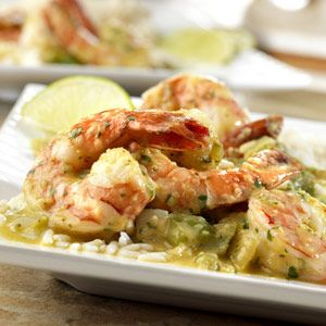Caribbean Shrimp    Another winning recipe from the Pace® Contest--add crusty bread and salad for a luscious dinner for friends or family.