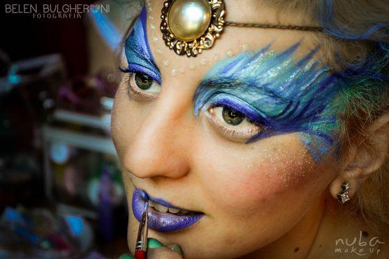 Diana del Amor Sesión de fotos - Maquillaje artístico Fotos: Belén Bulgheroni Maquillaje: Celeste Arrizabalaga