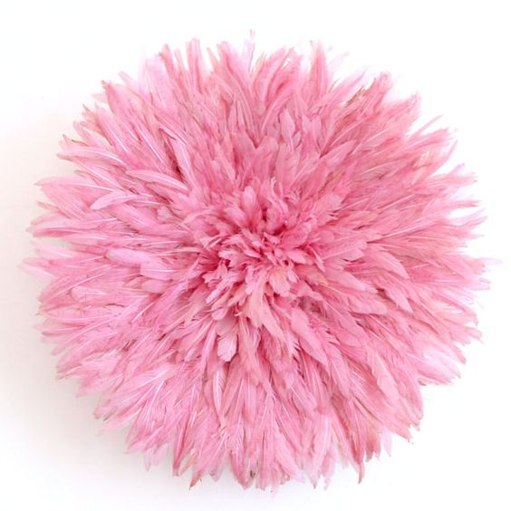 Juju Hat Feather Headdress Pink 50 cm/19.5 inches by ZLAMM