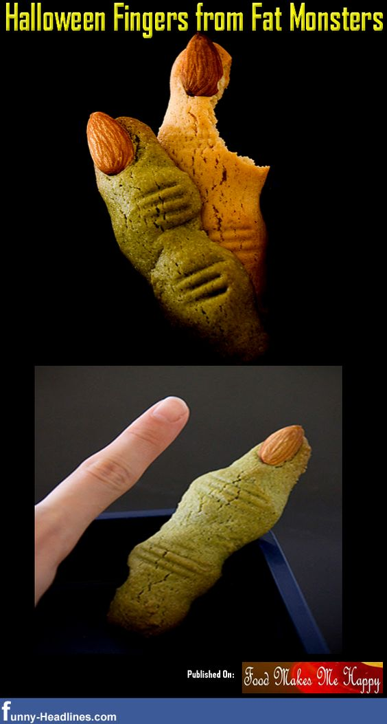 Halloween Fingers from Fat Monsters
