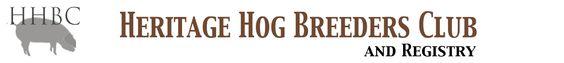 Heritage Hog Breeders Club