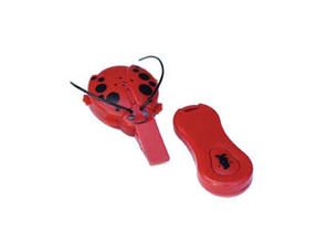 Giggle Bug Child Locator Locate Your Child with the Push of a Button Up to 150 Feet Away This child locator affixes easily to your tots clothing, allowing you to locate her in any crowd.