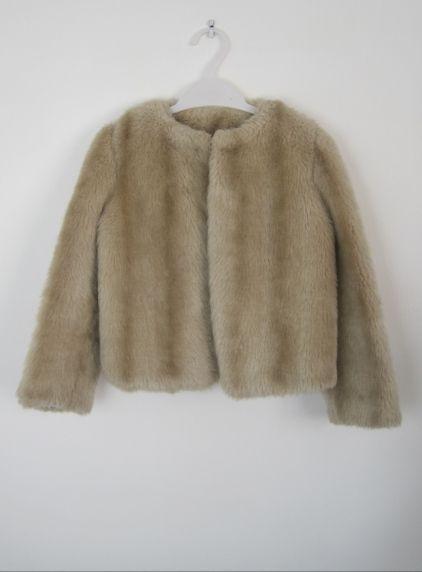 Girls' 1950s vintage faux fur coat £25