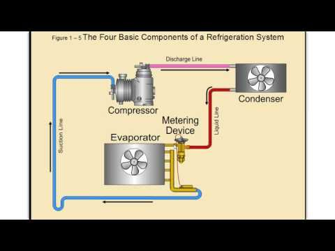 Refrigeration Cycle Tutorial Step By Step Detailed And Concise Youtube Hvac Training Hvac Filters Hvac System