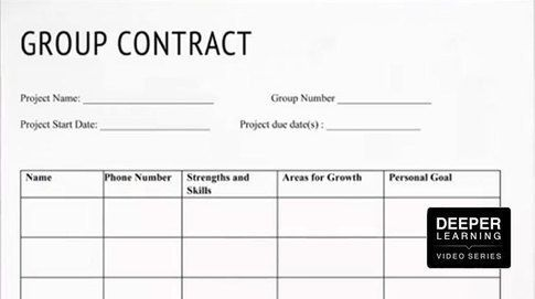 Group Contracts For Collaborative Work Check Out This Classroom