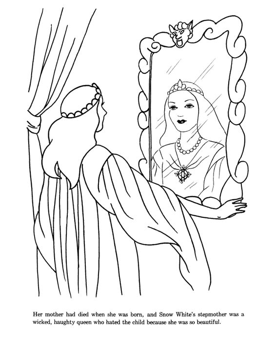 Pinterest the world s catalog of ideas for Evil stepmother coloring pages