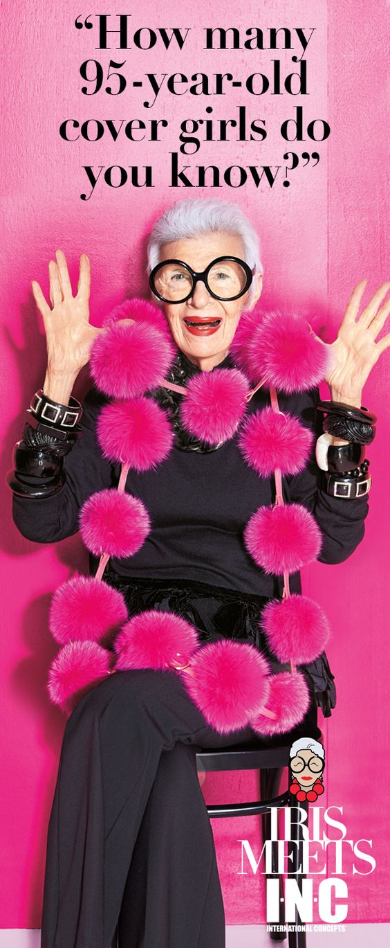 Fashion icon Iris Apfel is at it again! She's curated a limited edition collection of modern mod looks for INC. From jazzy jackets to pants with pizzazz, each piece is a major must-have. Be the first to snap up these fab fashions and get your fall off to a mod start. Only at Macy's and macys.com.
