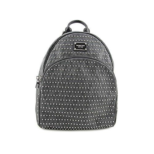 Michael Michael Kors Jet Set Large Studden Backpack in Black Silver  http://www.alltravelbag.com/michael-michael-kors-jet-set-large-studden-backpack-in-black-silver-2/
