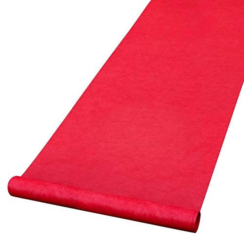Hollywood Red Carpet Aisle Sidewalk Entryway Runner 15 Feet Beistle In 2020 Red Aisle Runner Aisle Runner Wedding Aisle Runner