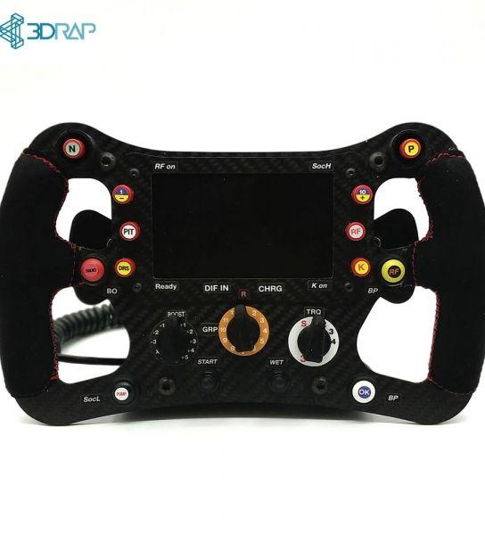 Gt3 Steering Wheel Kit By 3drap Thrustmaster Logitech And Osw Adapters In 2020 Steering Wheel Wheel Logitech
