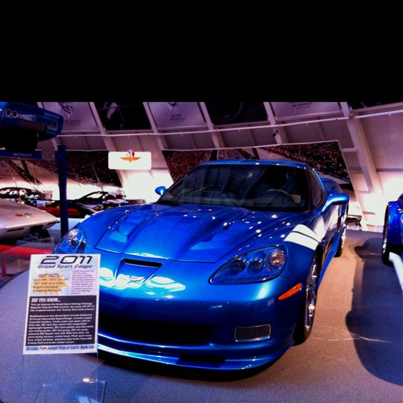 national corvette museum in bowling green. zr1.. I'll take it or any of them