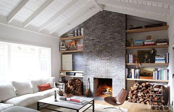 #living room #minimal #white #wooden floor