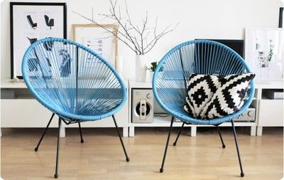 Fotel Krzeslo Ogrodowe Ubberup Sznur Jysk Okragle 6852157784 Oficjalne Archiwum Allegro Living Room Scandinavian Living Room Chairs Home Decor