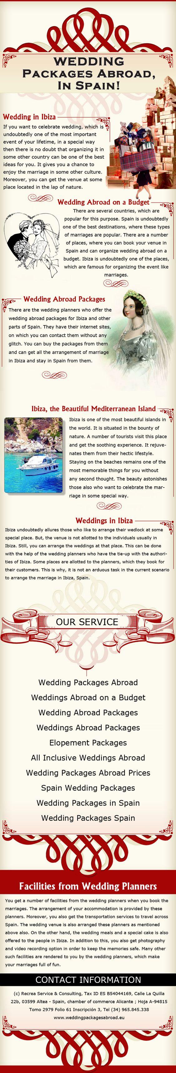 All Inclusive Wedding Venues Abroad