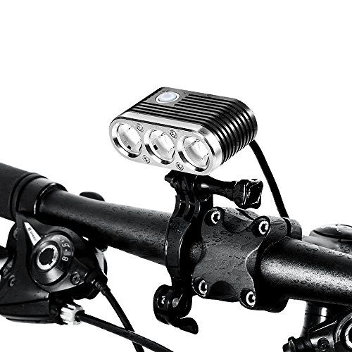 Ituo Led Bike Light Wiz Xp3 Usb Rechargeable Programmable Bicycle