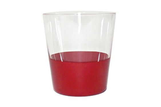 DEN Old glass - A - グラスに漆を一つ一つ塗ったグラス。ウィスキーなどにぴったりです。 | COS KYOTO Online Store