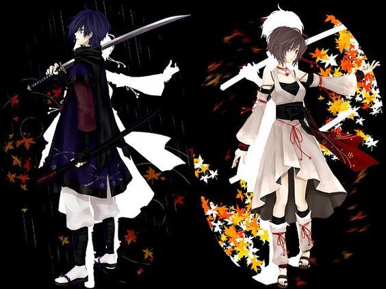 Vocaloid - Kaito and Meiko