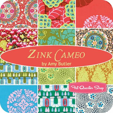 Zink Cameo Fat Quarter Bundle Amy Butler for Westminster Fibers - Fat Quarter Shop...on its way to my house!!