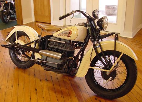 Vintage Indian Motorcycle For Sale