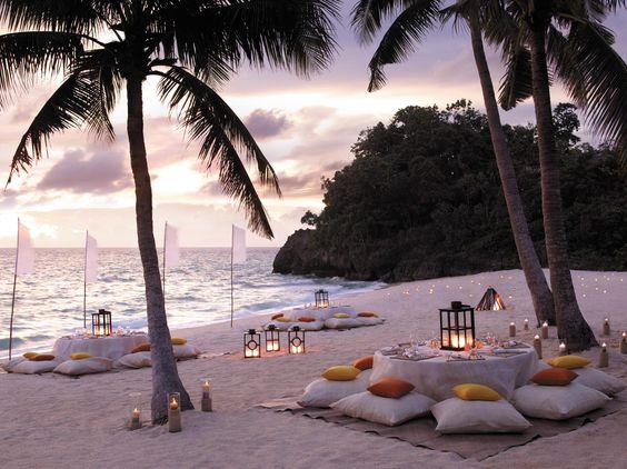 Beachfront Dinner Party - Shangri-La's Boracay Resort & Spa, Philippines