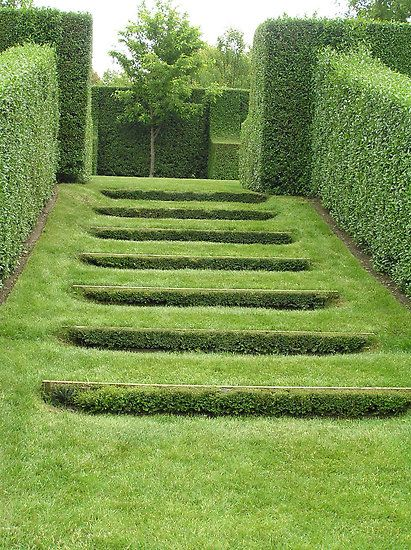 Arkitektur arkitektur garden : Hedges and Grass Stairs in Paul Bangay's Garden | arkitektur ...