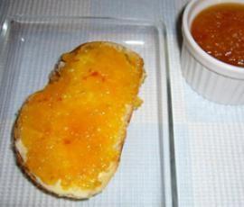 Rezept Mango-Apfel-Konfitüre von Thermomix Rezeptentwicklung - Rezept der Kategorie Saucen/Dips/Brotaufstriche