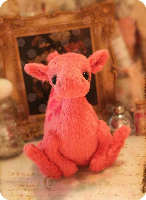 THE cutest little dragon plushie I ever did see