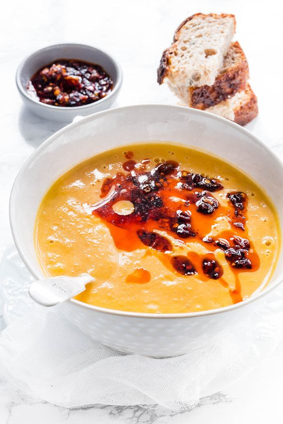 five spice carrot soup | Recipes From A Pantry: