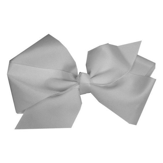 Jumbo White Bow