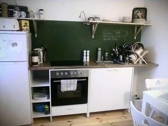 platz ist in der kleinsten küche.