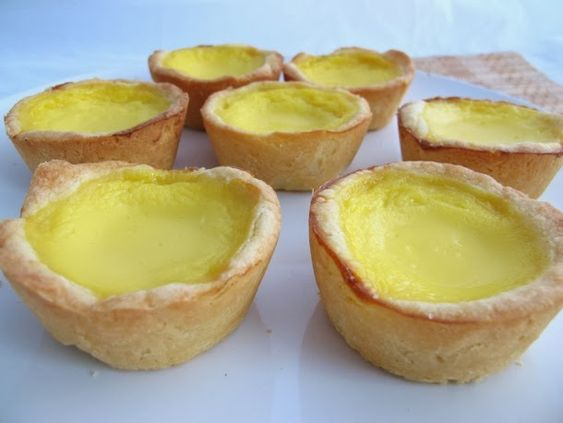 Chinese Egg Tarts - Xander loves these