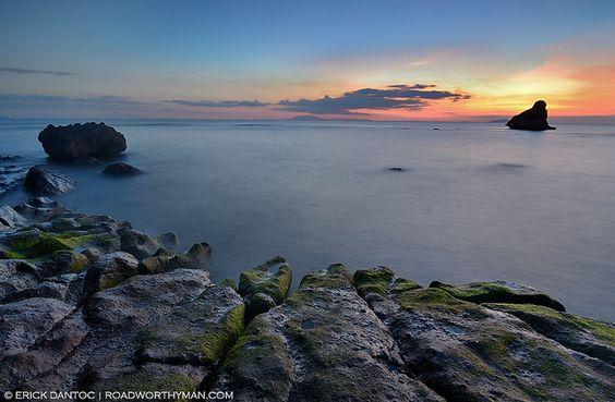 Sunset at Payong Payong Point in Nasugbu, Batangas: Point Nasugbu, Payong Point, Sunset, Nasugbu Batangas, My Philippines, Payong Payong