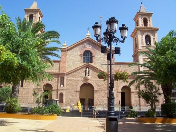 My own pix of Immaculate Conception Church, Torrevieja, Spain