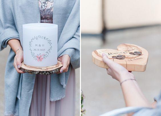 Hochzeit in beerenfarben fotos rosa for Holzscheibe rund