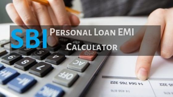Sbi Personal Loan Emi Calculator Sbi Personal Loan Interest Rates In 2020 Personal Loans Loan Interest Rates Calculator