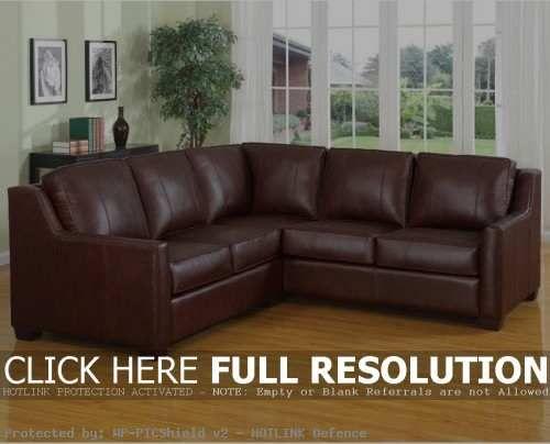 Brown Leder Schnitt Sofa   Lounge Sofa Nice Ideas