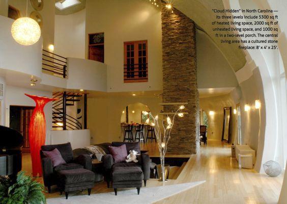 Nice Dome Home Interior Architecture Interior Design