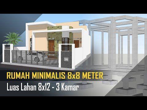 50+ rumah minimalis 2 lantai 8x8 meter pictures - rumah