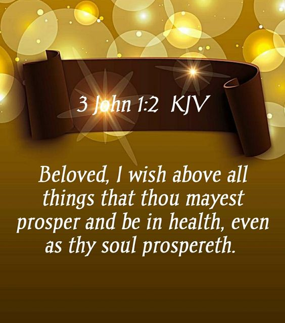 3 John 1:2 ~~J