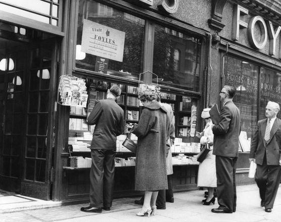Foyle Bookshop Charing Cross Road 1957