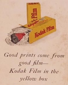 Vintage Advertising Posters | Kodak