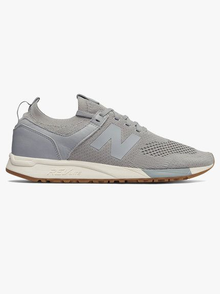 New Balance 247 Decon Knit Trainer Grey | Trending outfits, New ...