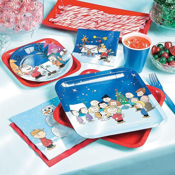 Peanuts® Christmas Party Supplies - OrientalTrading.com