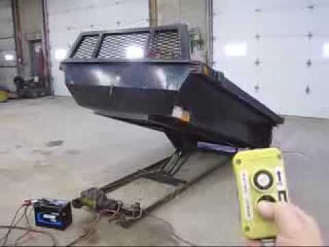 8 Electric Over Hydraulic Dump Bed Insert 4 Sold But We Have New Ones Youtube Dump Trailers Pickup Trucks Bed Custom Truck Beds