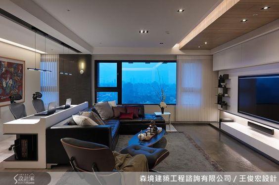 以流線造型帶出設計感,用現代風格打造舒適自然的優雅居所-設計家 Searchome