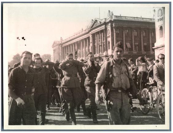 France, Libération de Paris, 1944    #Guerres_conflits #Guerre_39_45_World_War_II