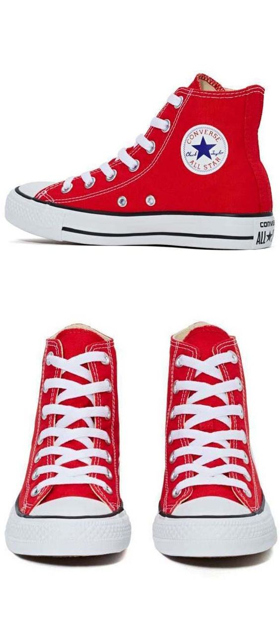 Converse All Star High-Top Sneaker - Red
